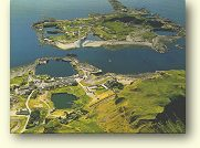 Easdale Island from the air